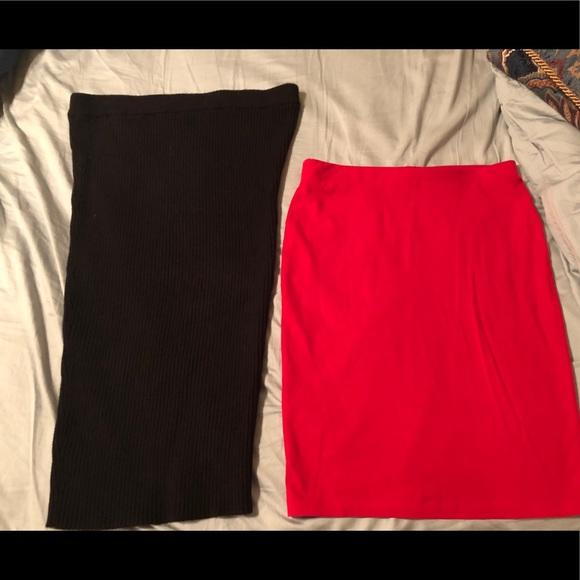 Dresses & Skirts - Bundle of midi skirts